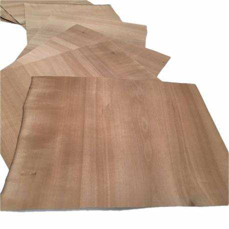 Fumed Pearwood XXL small size veneer