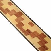 Veneer inlay strip made of several species 140.430.10