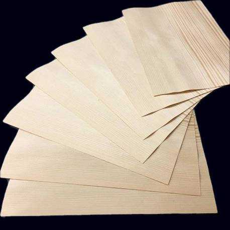 0.9 mm Spruce small size veneer