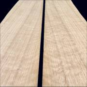 Quarter-cut Oak veneers 80 x 17 cm