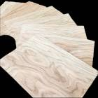 Half Crown Oak small size veneer