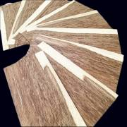 Brown Oak small size veneer