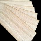 Oak 1.5 mm narrow small size veneer
