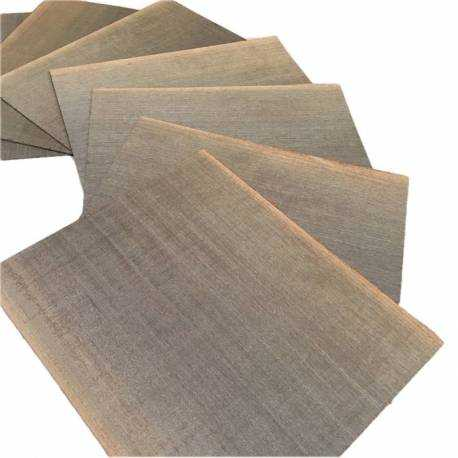Mansonia 1.4 mm small size veneer