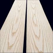 White Ash sliced veneer 120 x 15 cm